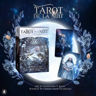 Le Tarot de la Nuit - Les Mondes de Carole-Anne
